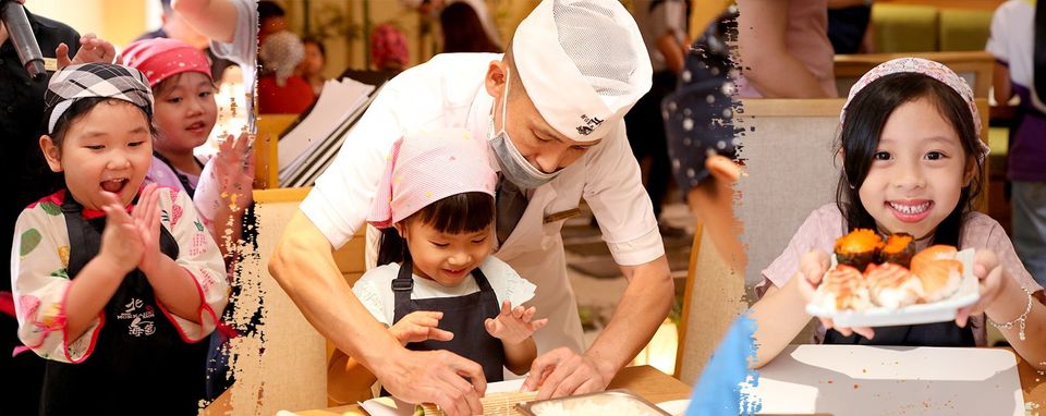 'Making Sushi with your childrens with Sushi Hokkaido Sachi' Workshop