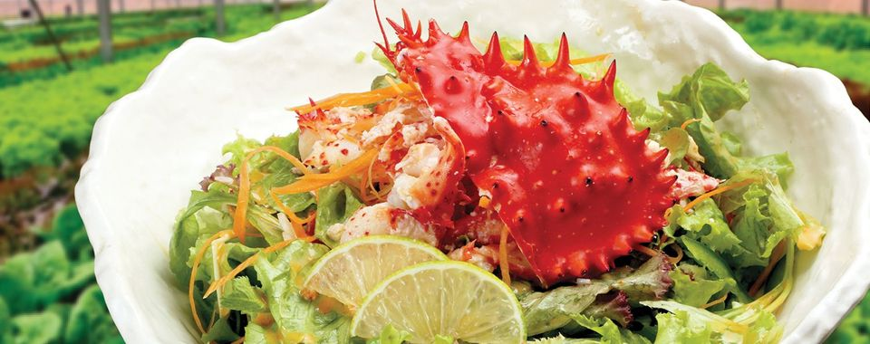 <span>5 must-try dishes that made from Hanasaki crab - seasonal specialties in Japan.</span>