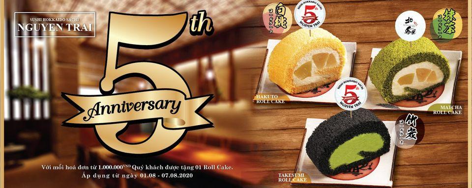 Sushi Hokkaido Sachi - Nguyen Trai 5th Anniversary