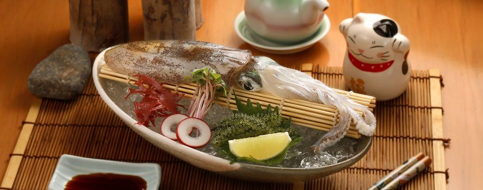 <span>Sushi Hokkaido Sachi Restaurant - The paradise of delicious fresh squid Sashimi, have you tried?</span>