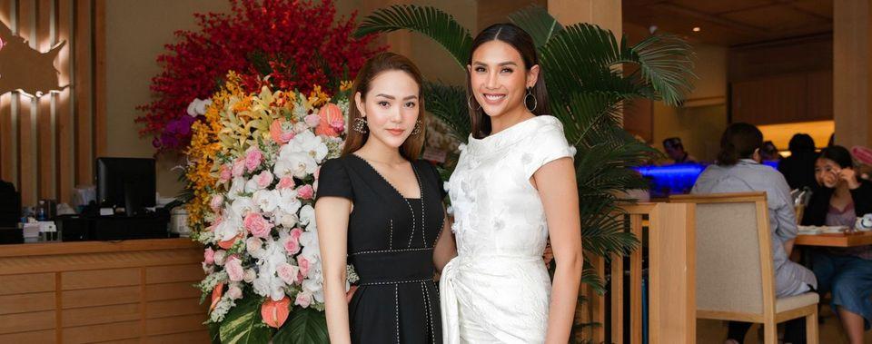 <span>Vo Hoang Yen, Minh Hang showing sisterhood love, ease the rumors of discord</span>